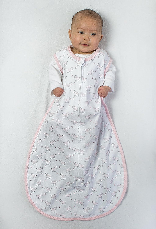 Amazing Baby by Swaddledesigns, Saquito de Dormir de Algodón con ...
