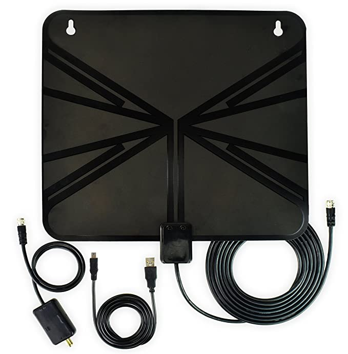 Review HDTV Antenna, Indoor Amplified