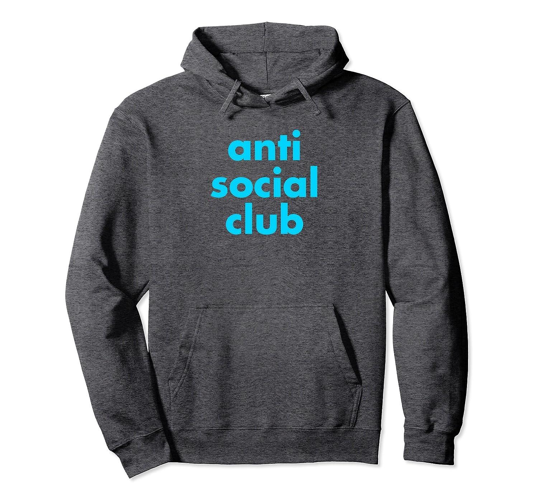 Anti Social Club Funny Pullover Hoodie-TH