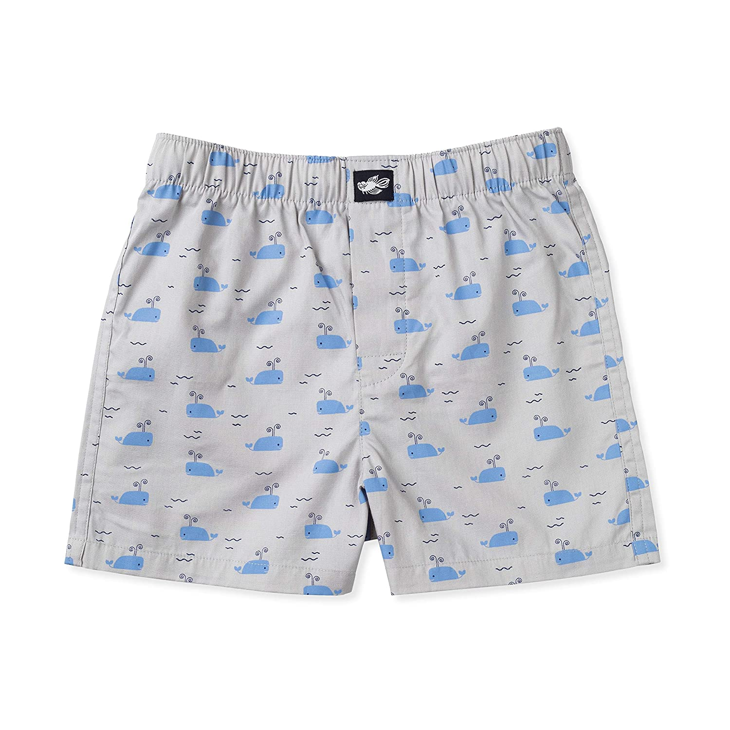 5-Pack Ryan Boys Boxer Shorts Childrens 100/% Woven Combed Cotton Underwear Lucky /& Me
