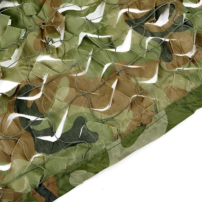 le camping et le bar 4/x 1,5/m Filet de camouflage le loisir Id/éal pour la chasse Style militaire 4X1,5m 3/x 1,5/m Dimensions/: 7 x 1,5/m