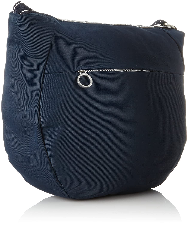 Groovy Shoulderbag Lvz, Womens Shoulder Bag, Blue (Dark Blue), 12x30x34 cm (B x H T) Oilily