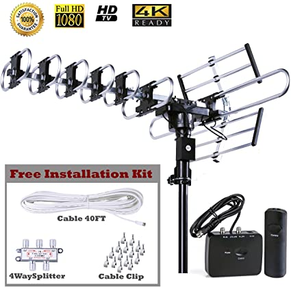 Amazon.com: FiveStar Outdoor HD TV Antenna Strongest Up to 200 Miles on home tv transmitter, home fireplace, home tv wiring diagram, home floor construction,