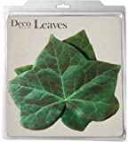 EuroQuest Imports Ivy Deco Parchment Leaves, Package of 20