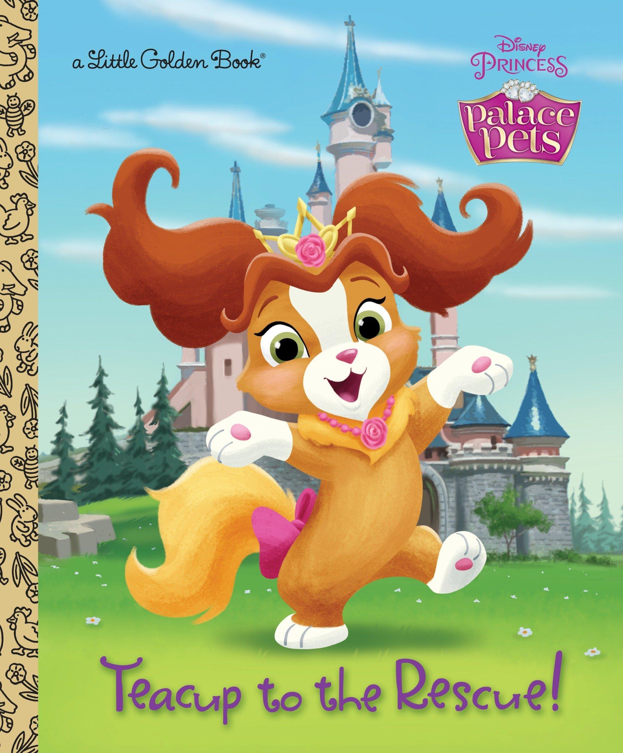 Teacup to the Rescue! (Disney Princess: Palace Pets) (Little