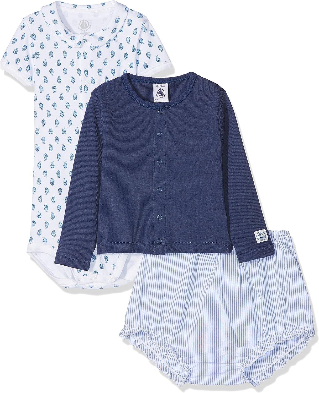Petit Bateau Baby-Jungen Bekleidungsset