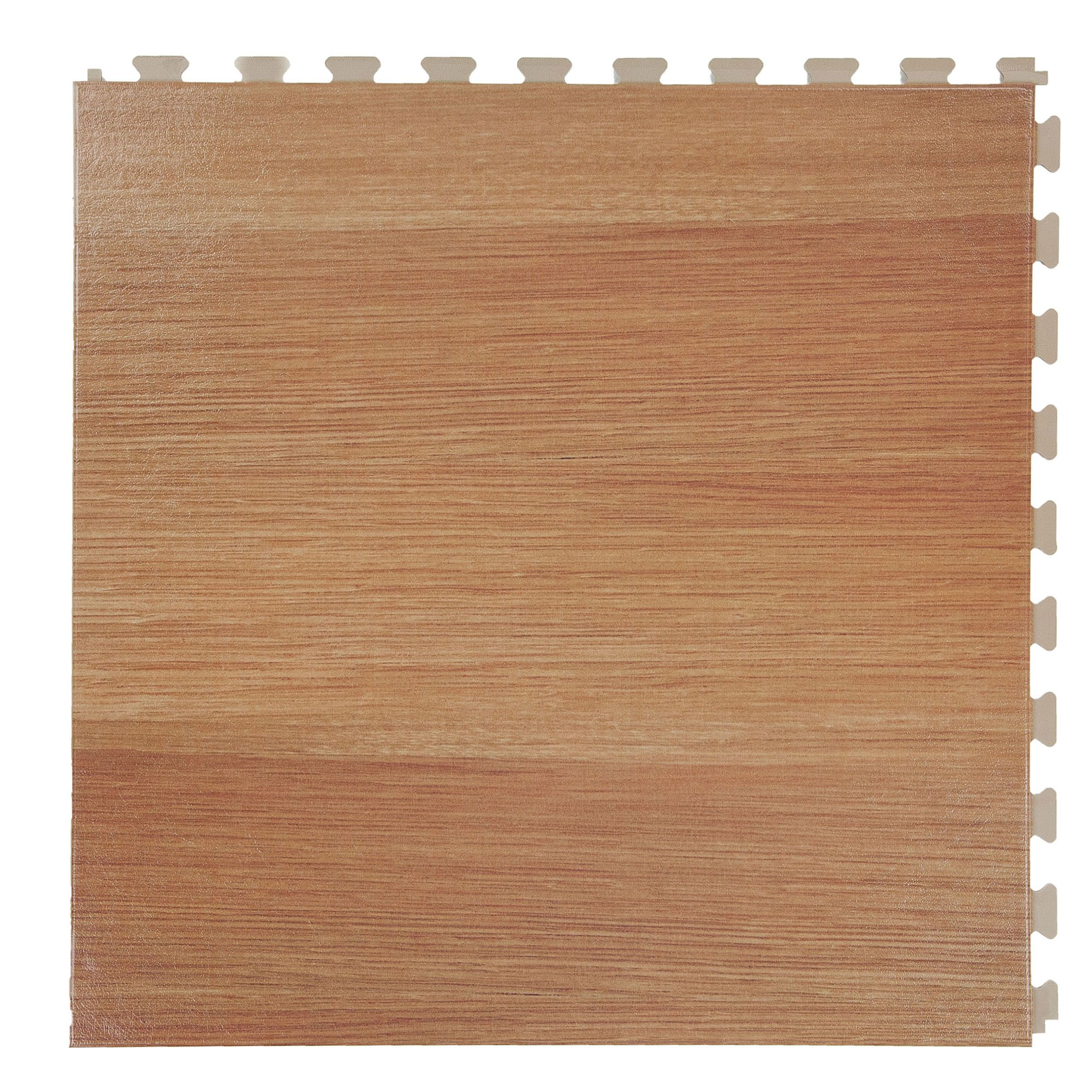 IncStores Wood Flex Multi-Purpose Hidden Interlocking PVC Floor Tiles 6 Tile Pack Covers 16.67 sqft (Bordeaux Maple)