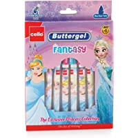 Cello Buttergel Fantasy Gel Pen Set - Pack of 10 (Blue)