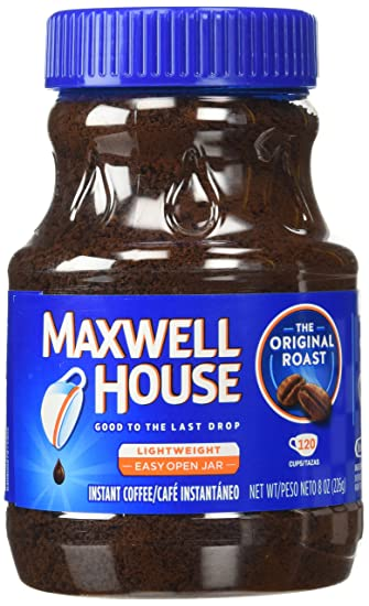 Exceptional Maxwell House Instant Coffee, 8 Oz