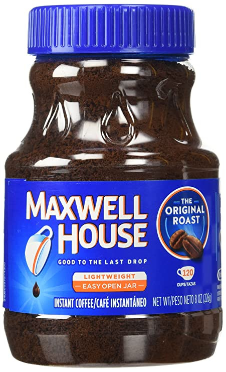 Maxwell House Original Instant Coffee 226g Pack Of 1