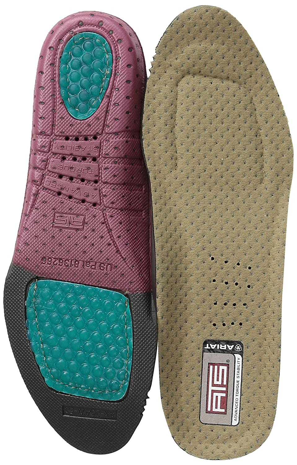 Ariat Womens ATS Footbed Round Toe Insole