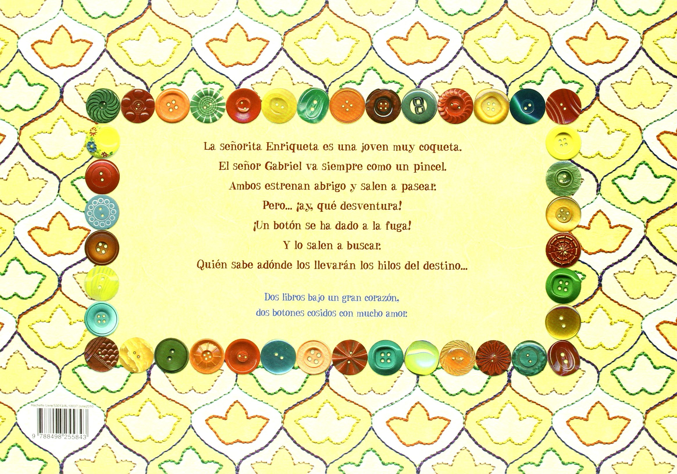 Amazon.com: Un amor de botón (Spanish Edition) (9788498255843): Pauline Carlioz: Books