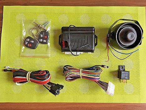 BSM Sistema de Seguridad - MAX Coche Sistema de Alarma con ...