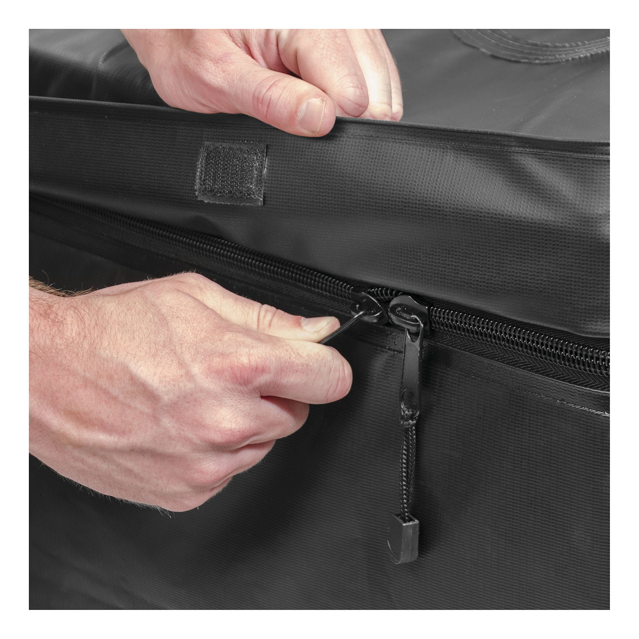 CURT 18221 Extended Roof Rack Cargo Bag by Curt Manufacturing (Image #3)