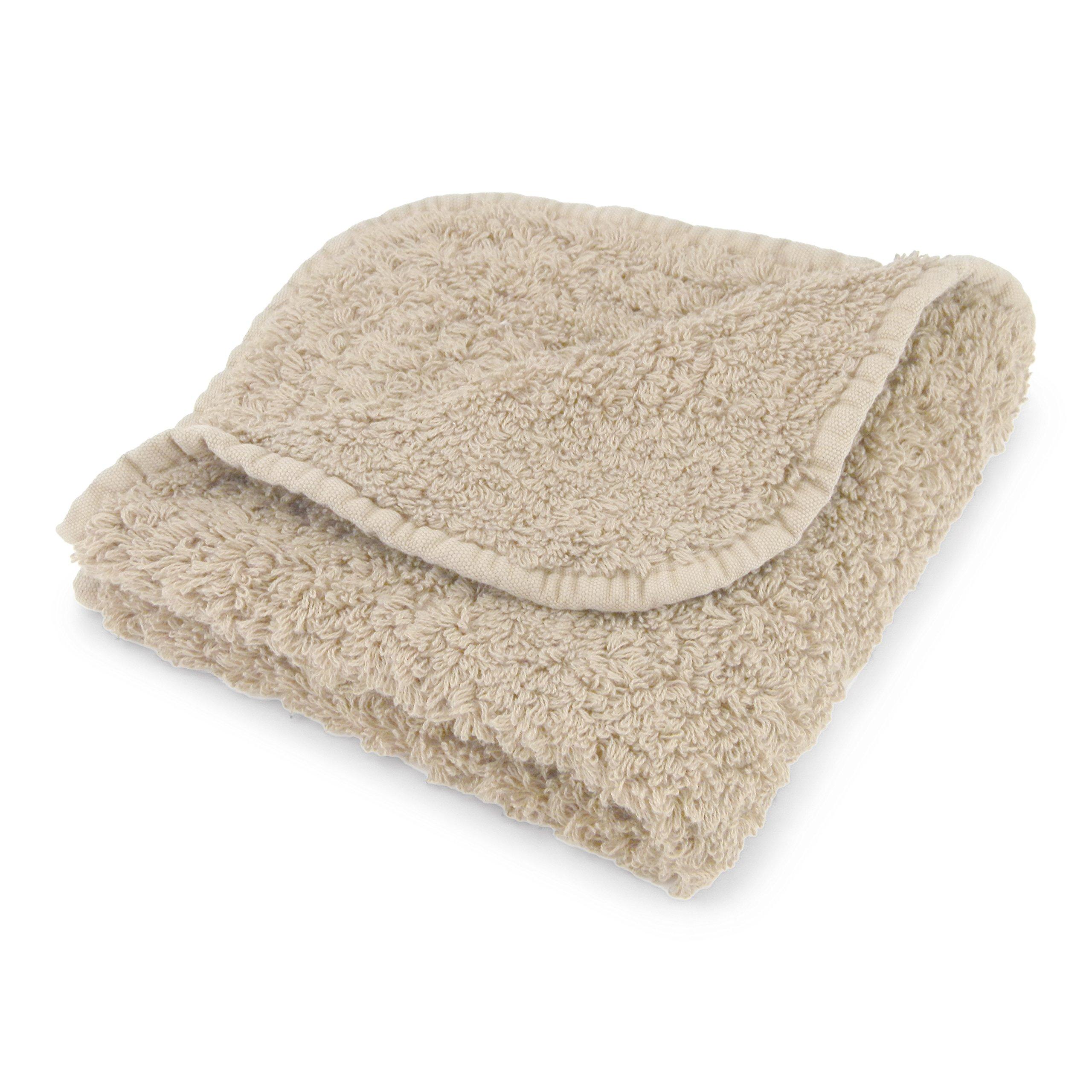 Abyss Super Pile Wash Cloth (12'' x 12'') - Linen (770)