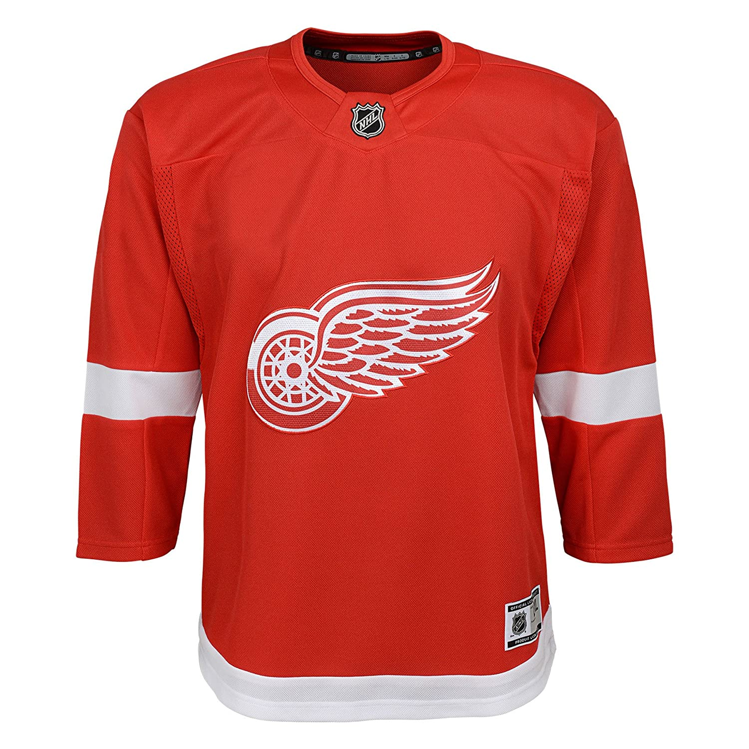 Detroit Red Wings Toddler Premier Home Jersey