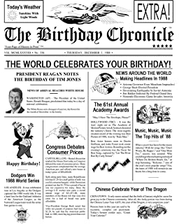 graphic relating to Free Printable Birthday Chronicle named : Gombita Businesses Birthday Chronicle Examiner