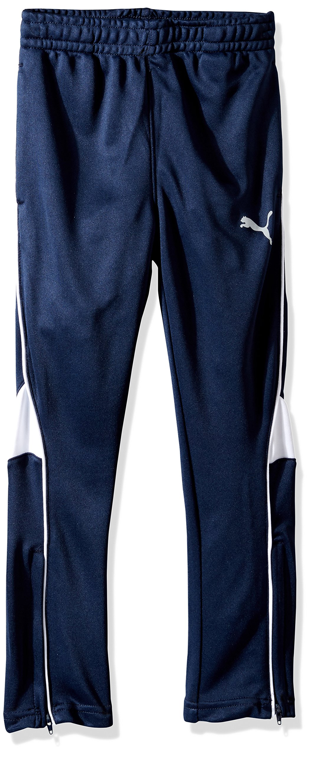 PUMA Little Boys' Soccer Pant, Deep Navy, 5