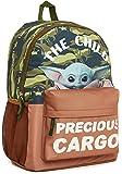 Star Wars Mochila Escolar con Baby Yoda, Mochilas Escolares el Mandaloriano, Bolso Camuflaje Infantil, Bolsa Guarderia…