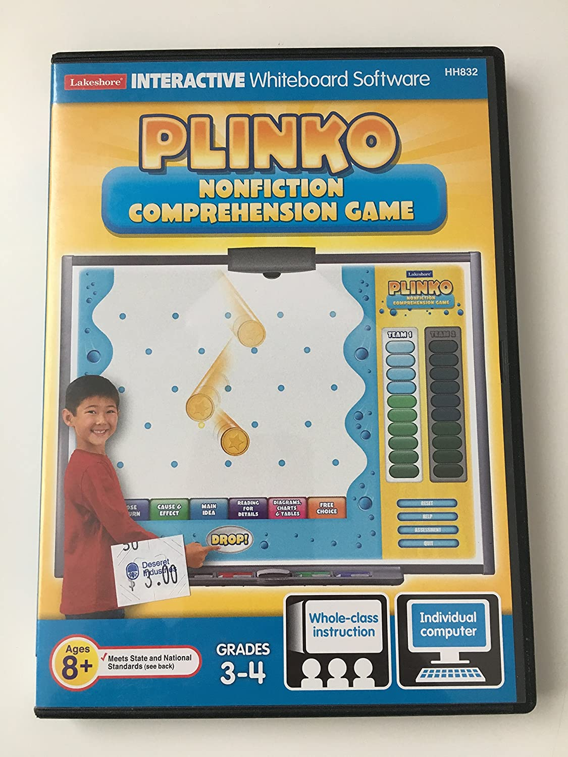 - Amazon.com: Plinko/ Non-Fiction Comprehension Game/Grades 3-4