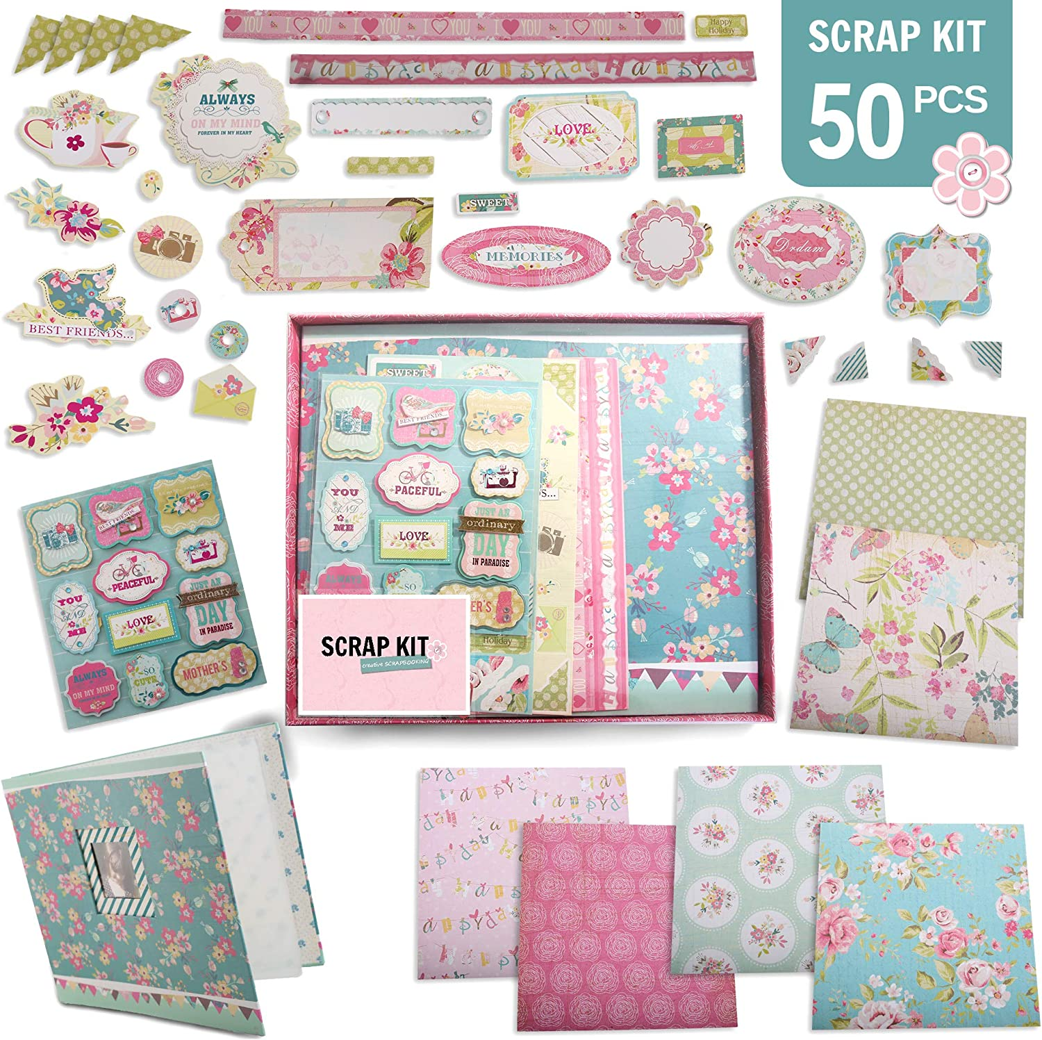 CREATIVE MEMORIES LOT OF PAPER AND STICKERS KITS 8 DIFFERENT KITS NEW
