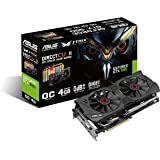 Asus STRIX-GTX980-DC2OC-4GD5 Nvidia GeForce Gaming Grafikkarte (PCIe 3.0 x16, 4GB DDR5 Speicher, HDMI, DVI, 3x DisplayPort)