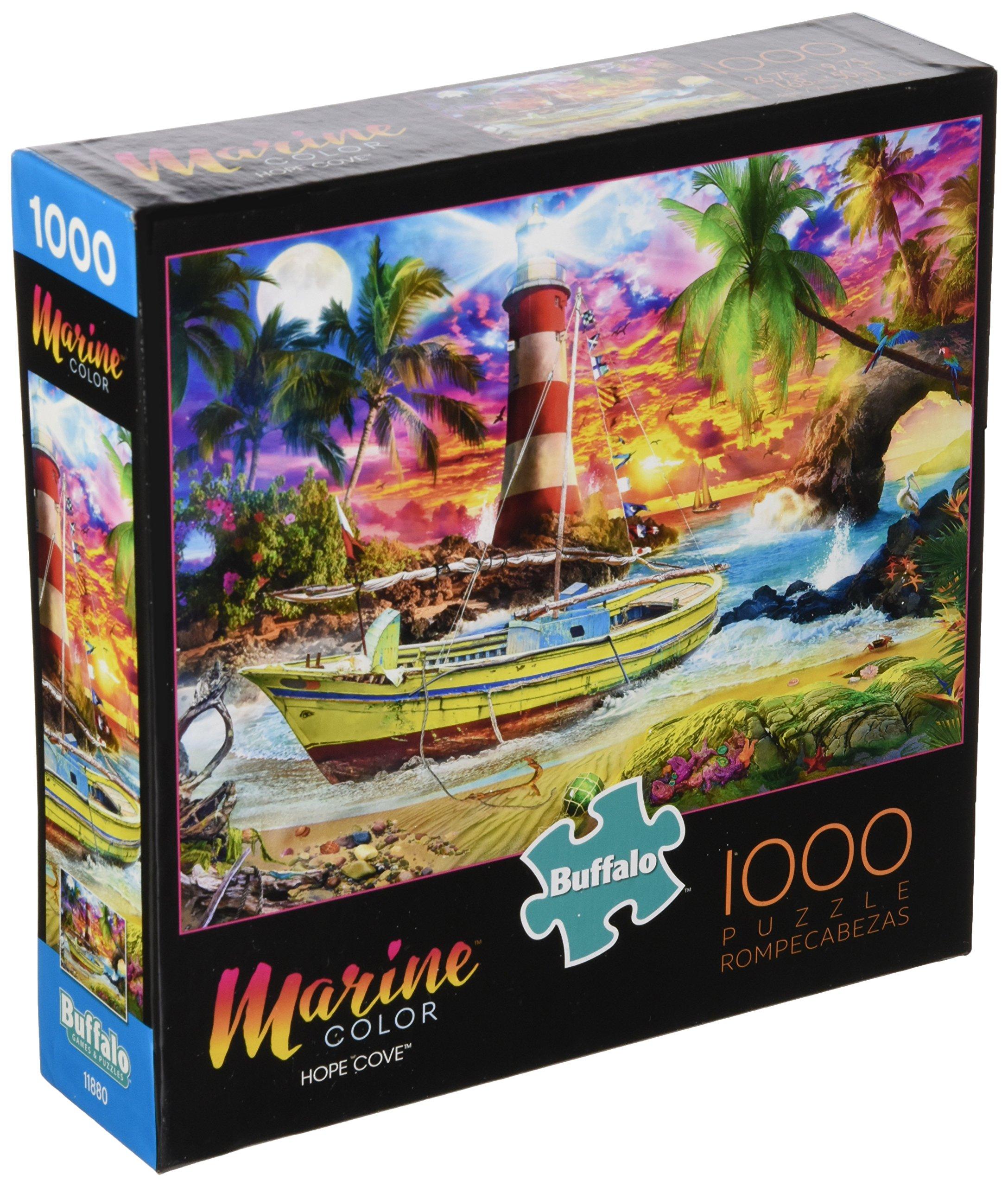 Buffalo Games - Marine Color - Hope Cove - 1000 Piece Jigsaw Puzzle
