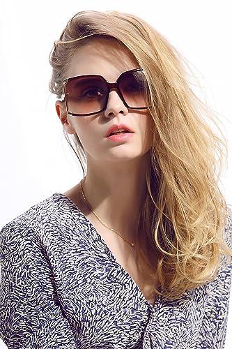Diamond Candy Occhiali da Sole Donna,Sexy e Alla Moda,Polarizzato,UV protezione,UV400