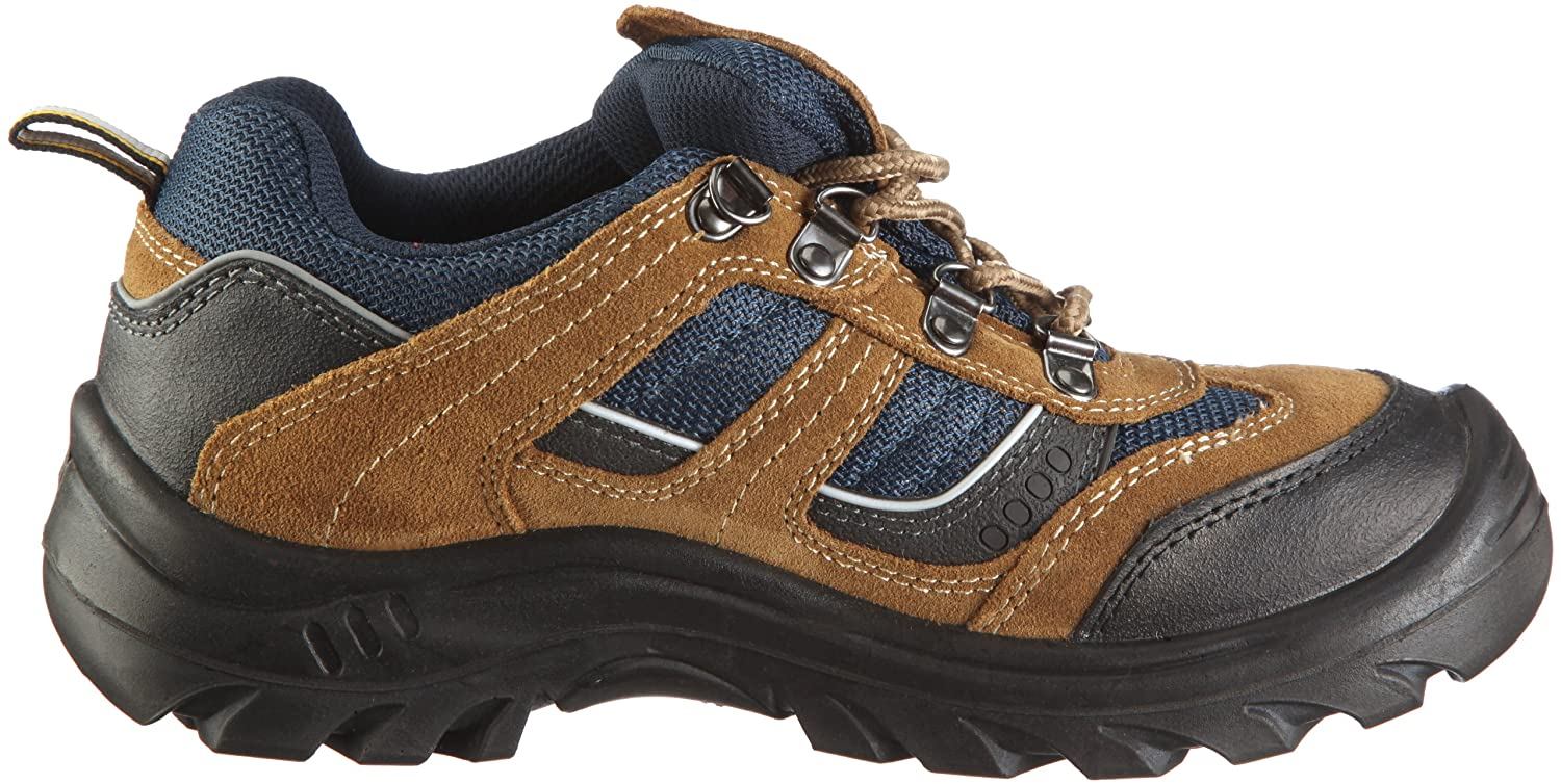 Safety Jogger X2020P, Unisex - Adult Work & Safety shoes S3, brown, (blk/brn /navy 10A), EU 37: Amazon.co.uk: Business, Industry & Science