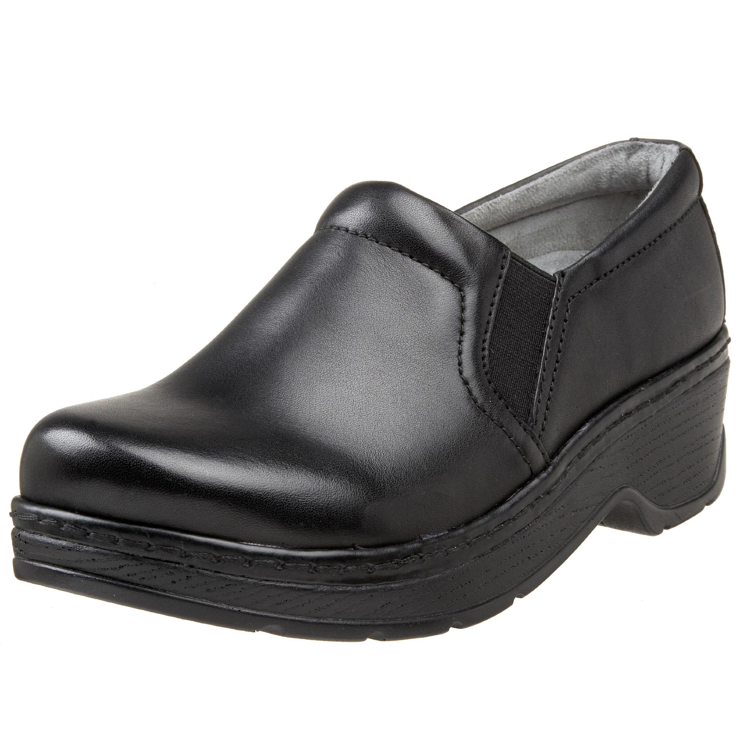 Klogs Unisex Naples Black Leather Shoes - 13 W (E)