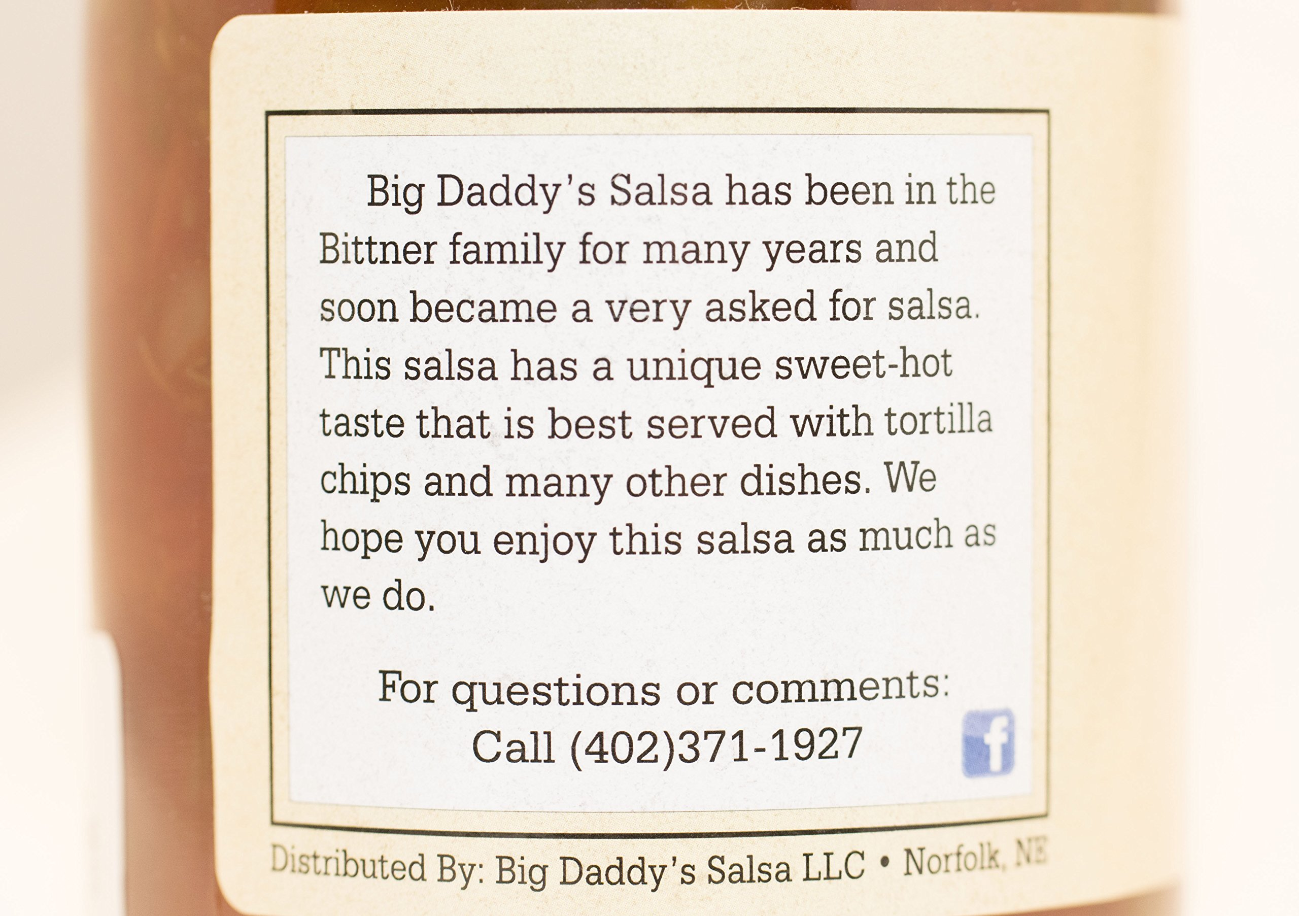 Big Daddy's Salsa Case of 12 by Big Daddy's Salsa (Image #1)