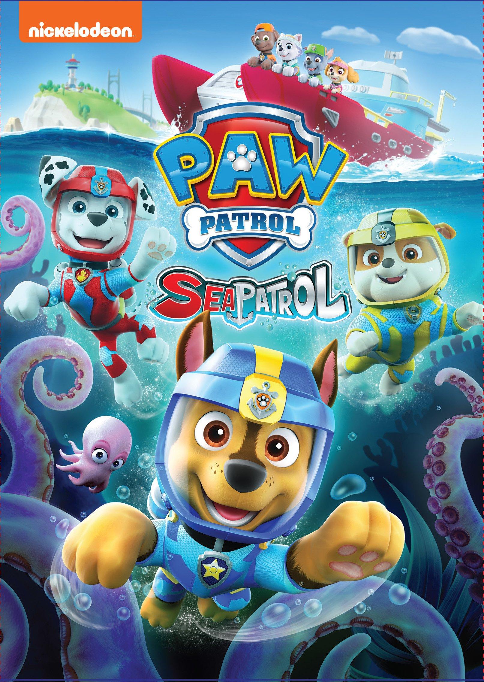 DVD : Paw Patrol: Sea Patrol (Steelbook, Widescreen)