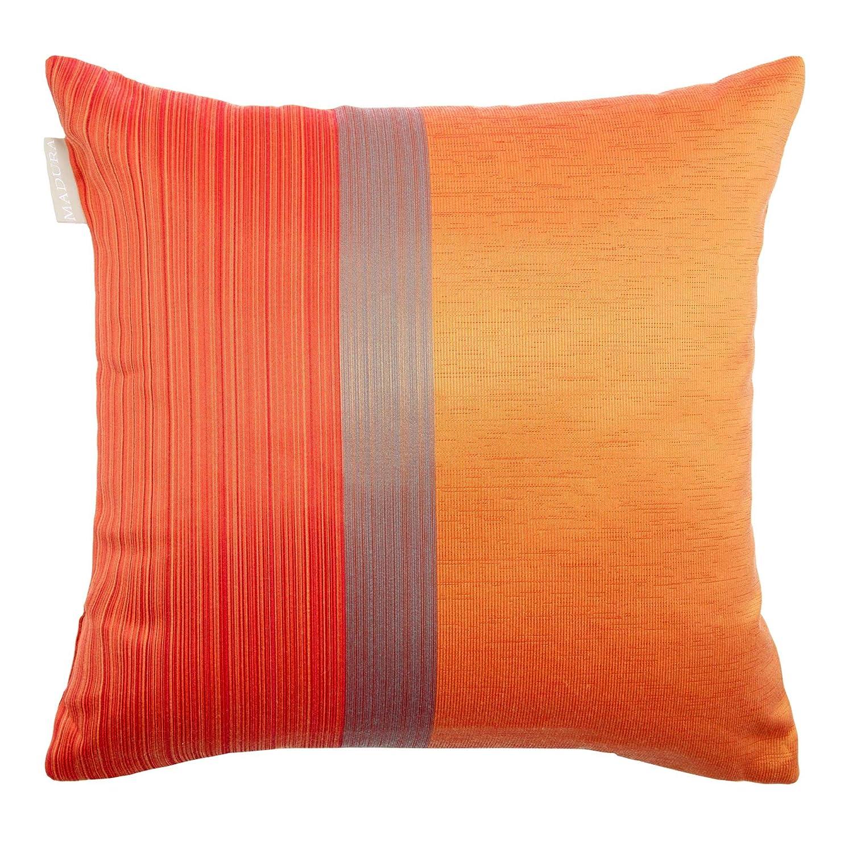 housse de coussin orange 60x60 MADURA Housse de Coussin ATINA Orange et Rouge 40 x 40 cm: Amazon  housse de coussin orange 60x60