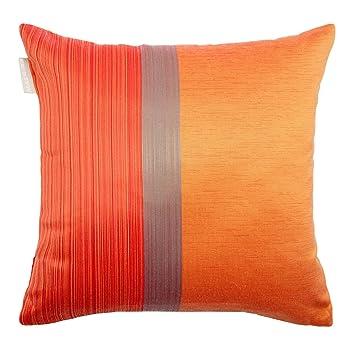 Madura Housse de Coussin ATINA Orange et