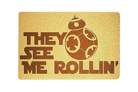Felpudo de Star Wars con diseño de Star Wars, Felpudo de ...
