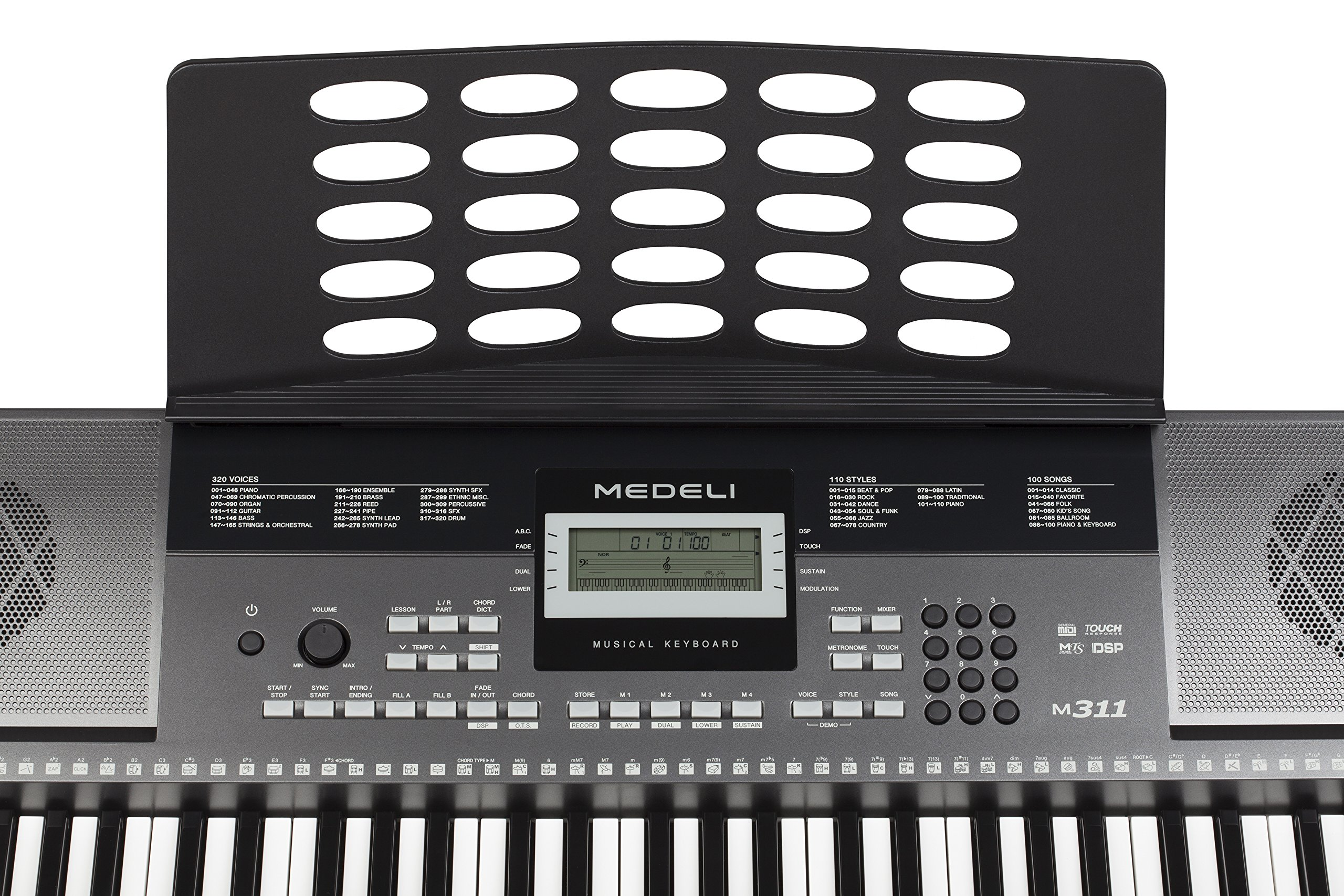 Medeli M311 Electronic Keyboard by Medeli (Image #5)