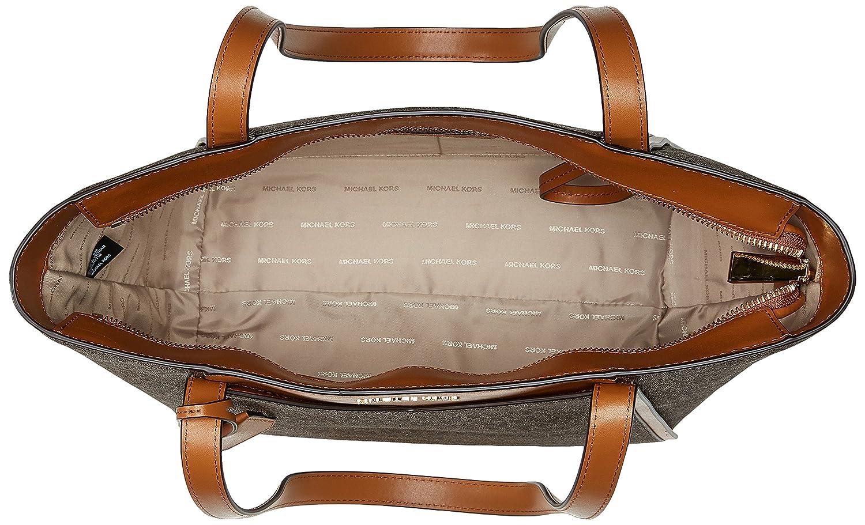 3c97a7d2c121 Michael Kors Womens M Tote Group Sm Tz Tote Tote Brown (Brown): Handbags:  Amazon.com