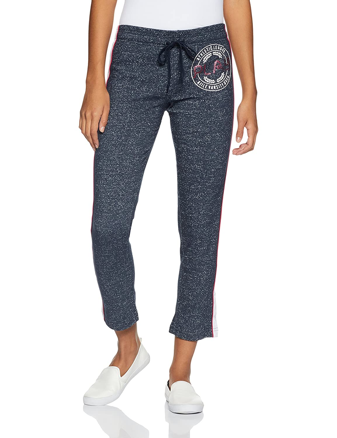 Ajile By Pantaloons Women's Straight Fit Track Pant