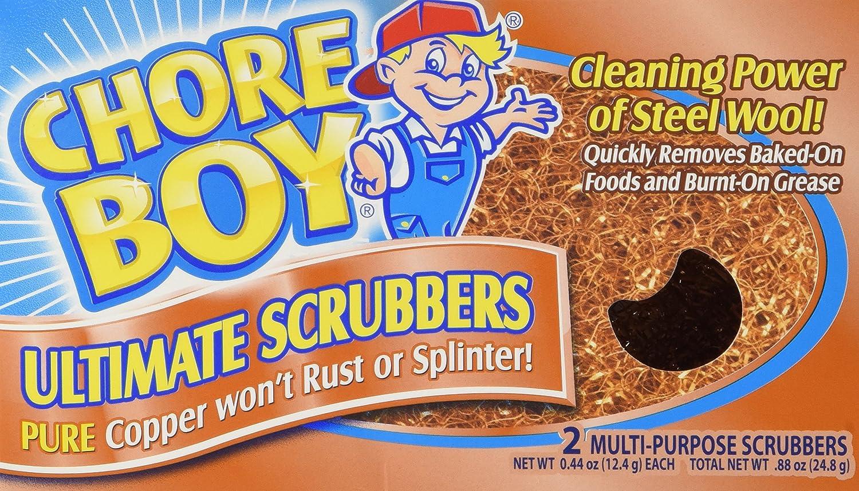 Chore Boy Copper Scouring Pad-2ct 75684