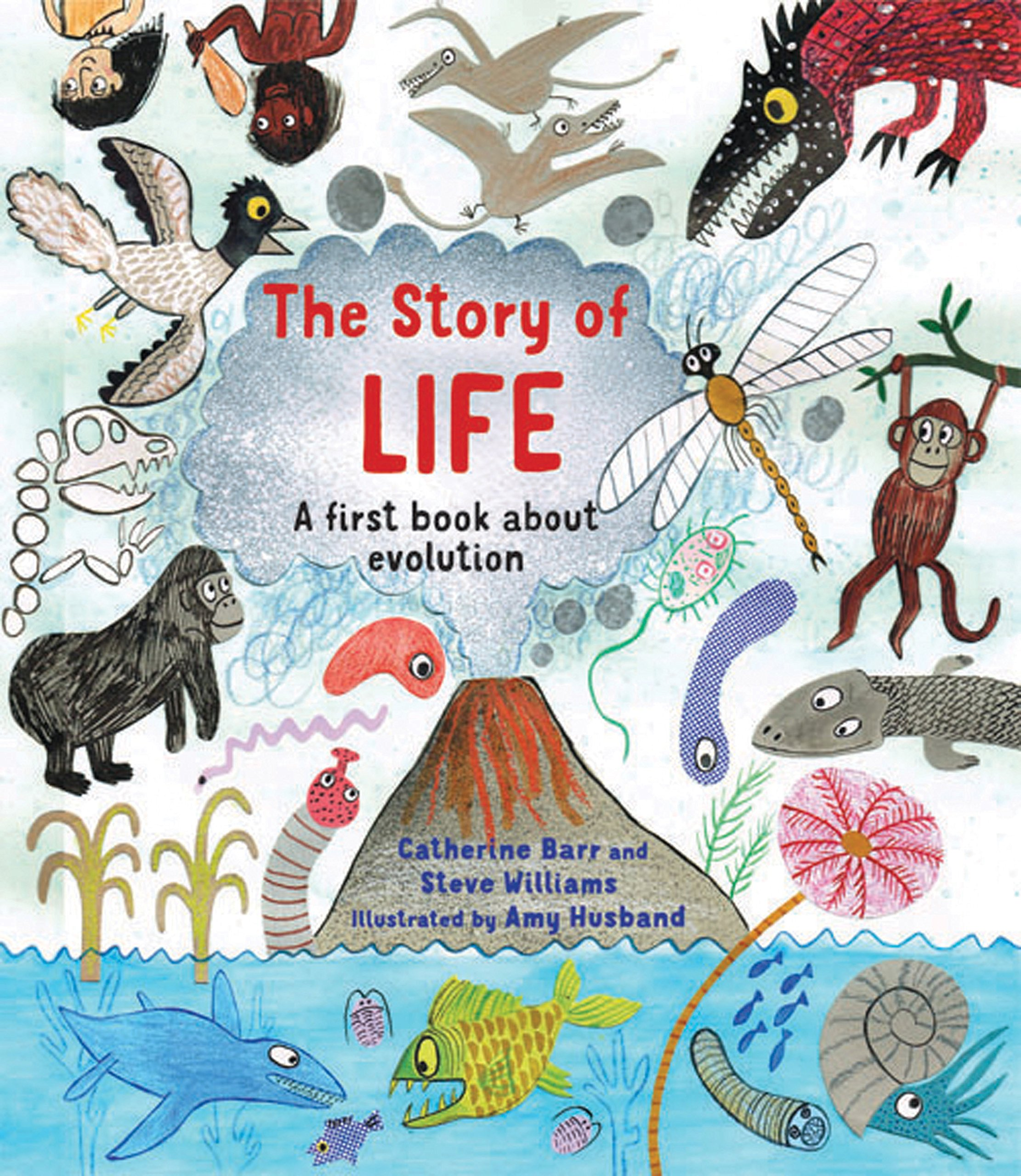 The Story Of Life: A First Book About Evolution: Amazon: Catherine  Barr, Steve Williams, Amy Husband: 9781847804853: Books
