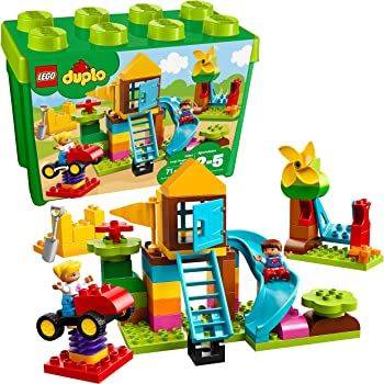LEGO 71-Piece DUPLO Large Playground Brick Box 10864 Building Block