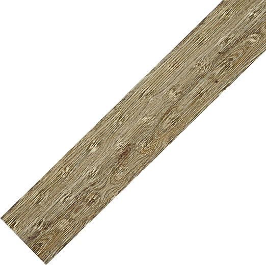 suelo laminado neu.haus tablas Suelo de vinilo muy estructurado 6,68m/² - roble claro - mate planchas
