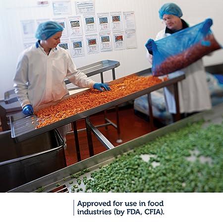 Image result for kleenguard g10 arctic blue FOOD