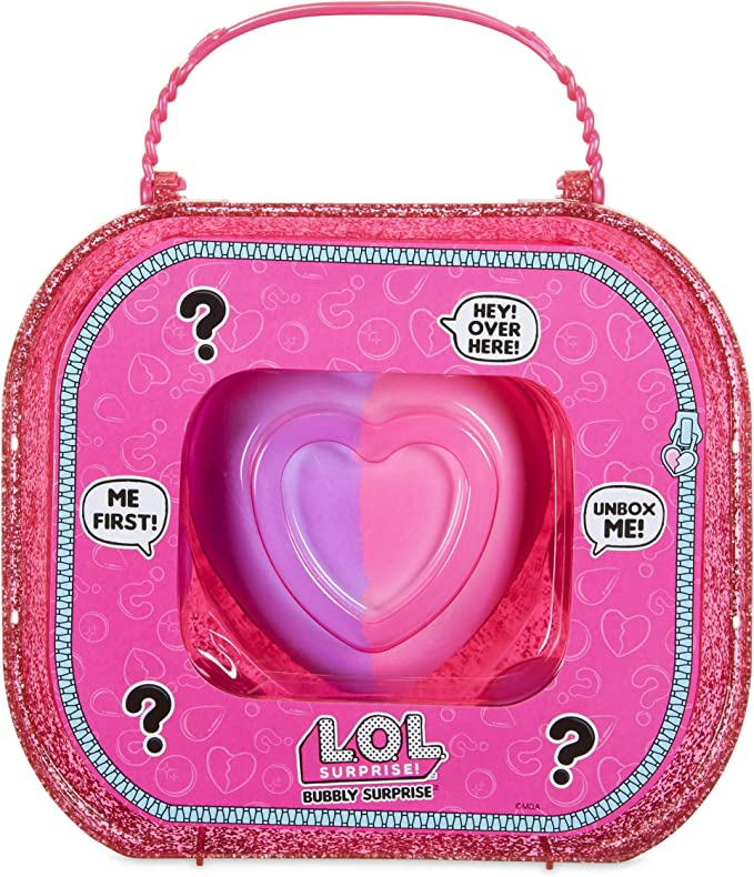 Sailor QT Doll /& Dog Pet Fizzy Pink Case + GLITTER BALL LOL BUBBLY Surprise