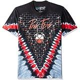 Liquid Blue Men's Pink Floyd The Wall Hammer V Tie Dye Short Sleeve T-Shirt