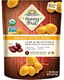 ORGANIC Pitted Dried Dates - Sunny Fruit - (5) 1.76oz Portion Packs per Bag | Purely Dates - NO Added Sugars, Sulfurs or…