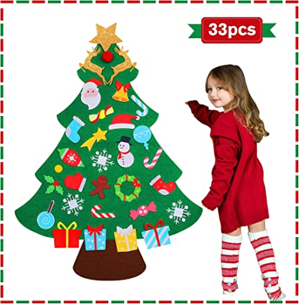 Amazon.com: DIY Felt Christmas Tree for Toddlers, 2020 for Kids