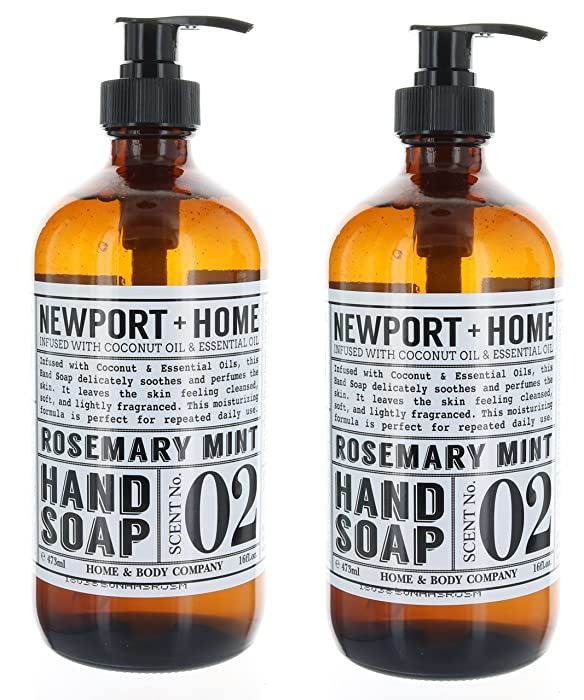 Top 9 Newport Home Hand Soap Rosemary
