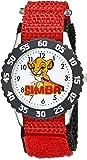 Disney Kids' W002134 The Lion King Analog Display Analog Quartz Red Watch
