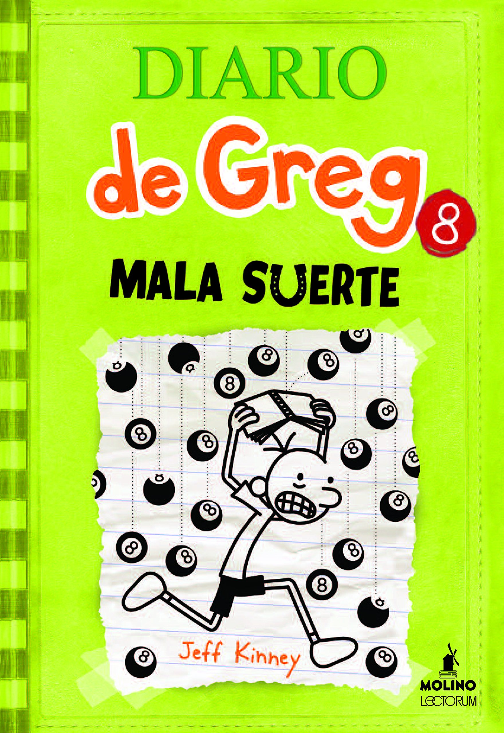 Diario Greg Mala suerte Spanish product image
